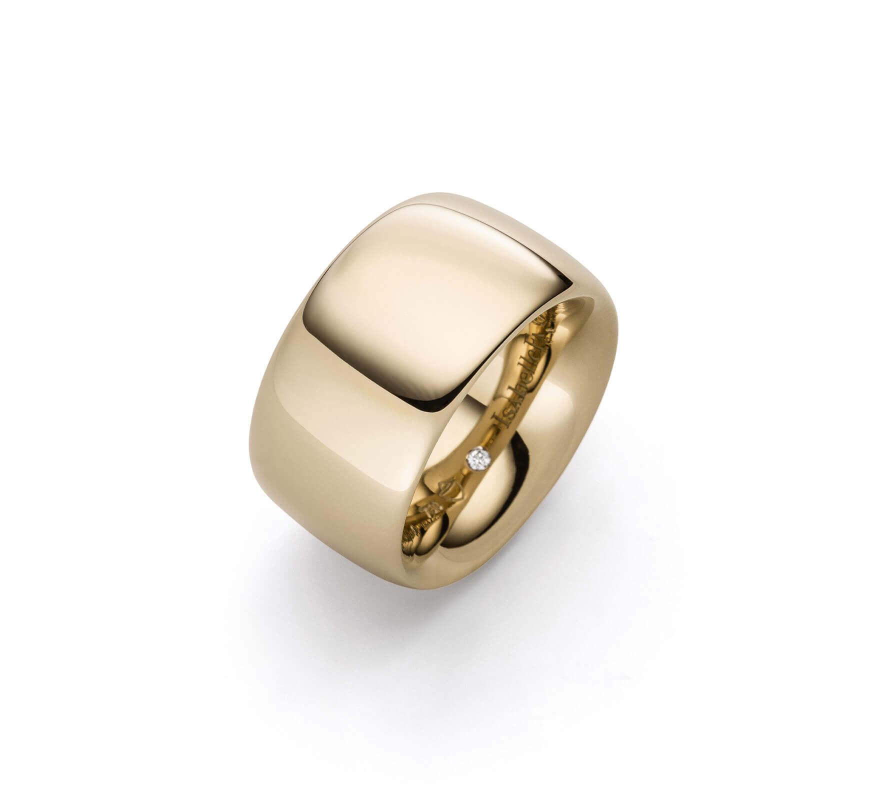 Ring Gold Navette 14 Rosegold
