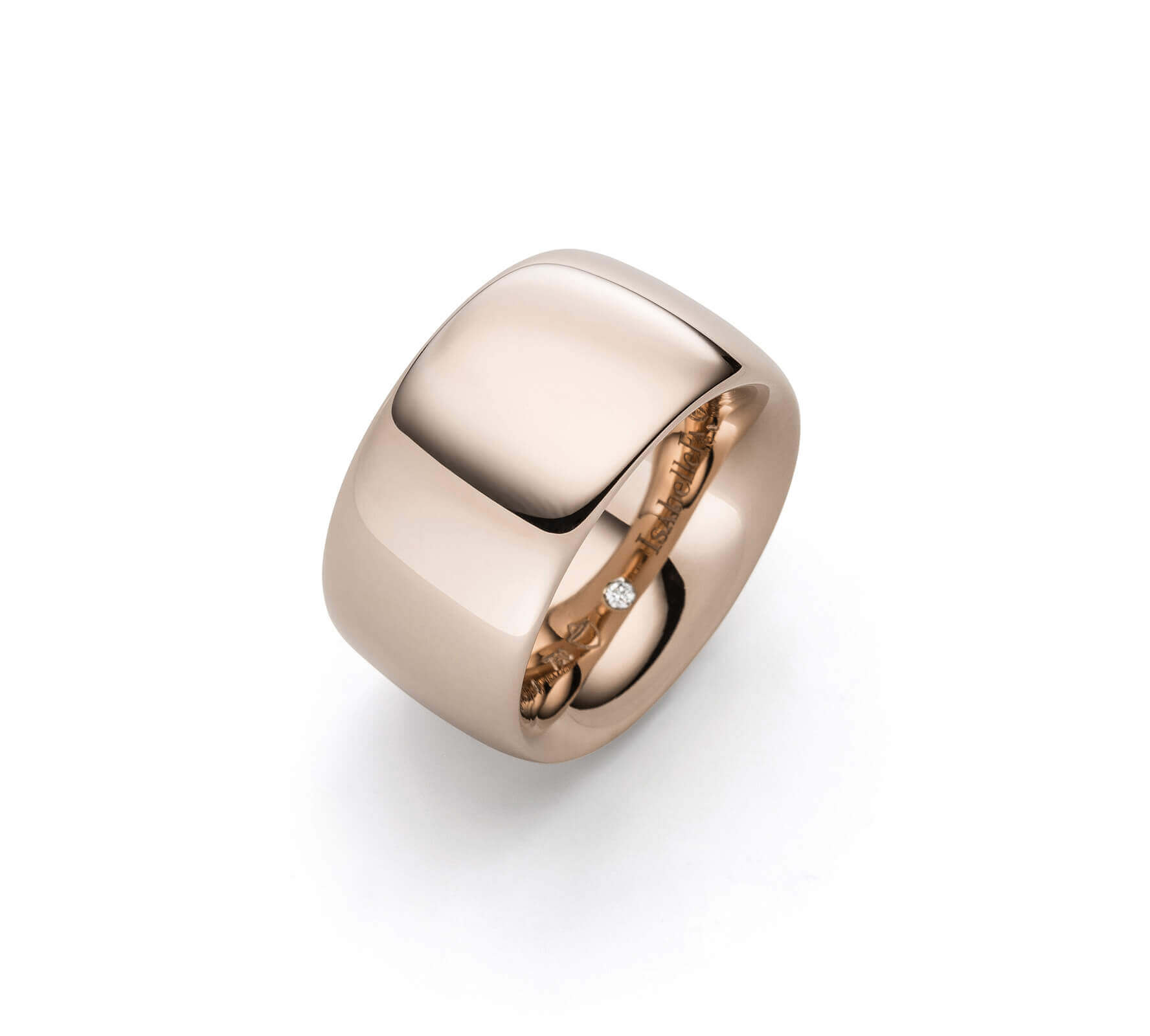 Ring Gold Navette 14 RougeRoyal Rotgold