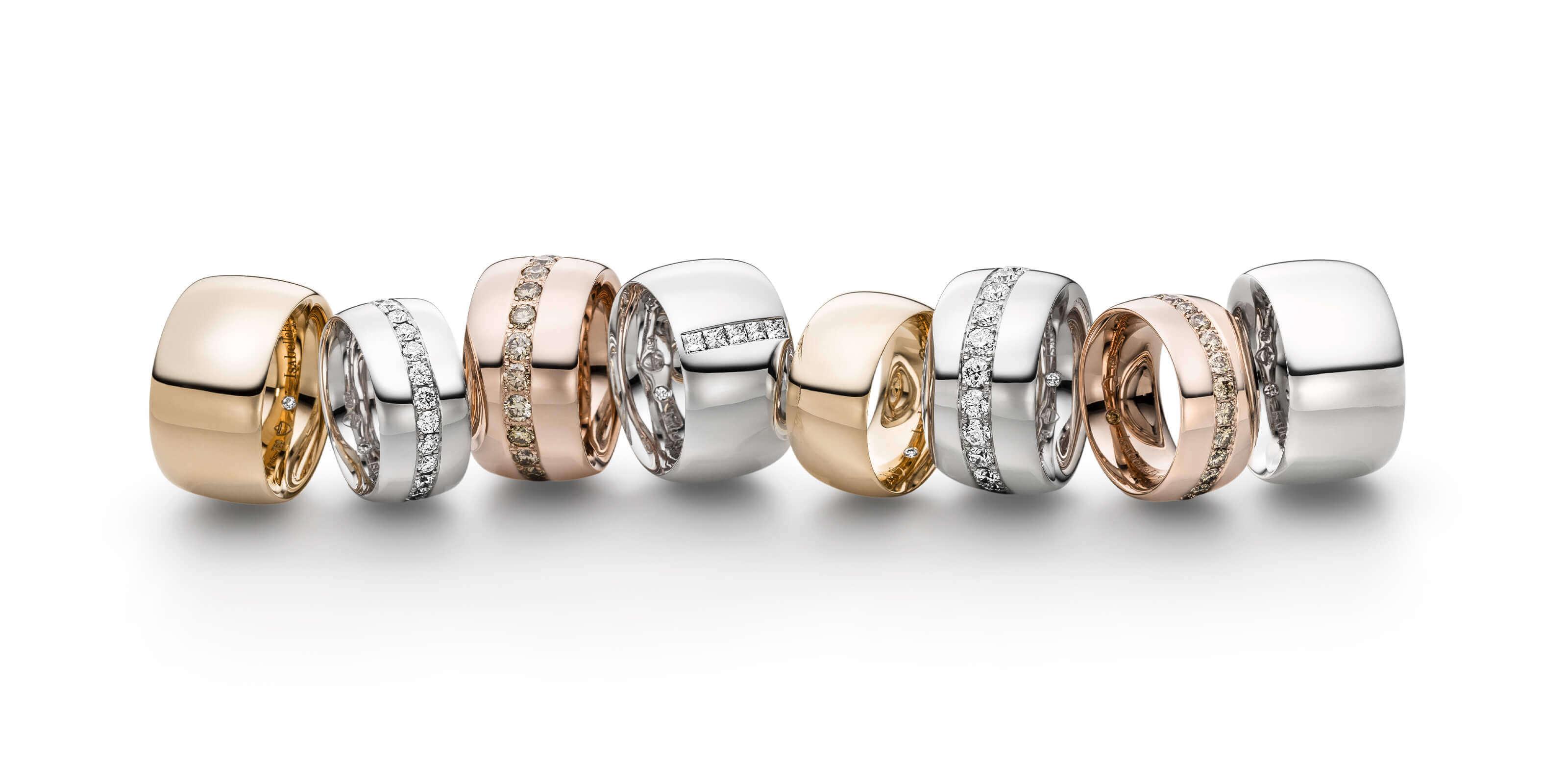 Ring Gold Navette Übersicht